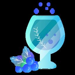 Beber copa de vino