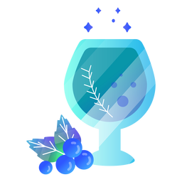 Beber copo de vinho