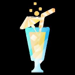 Beber con paraguas