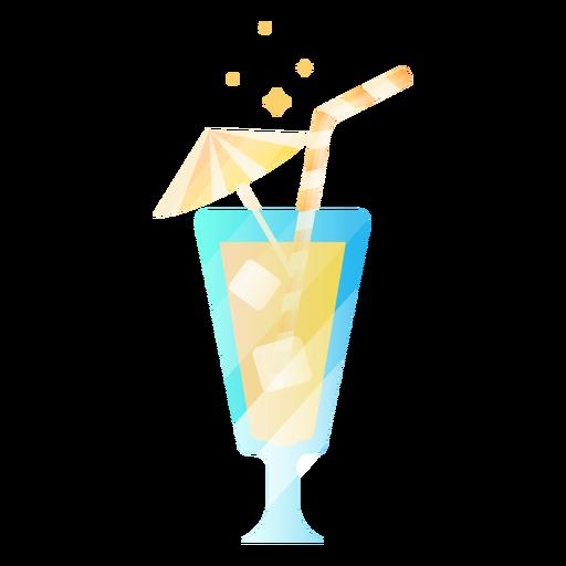 Beber con paraguas Transparent PNG
