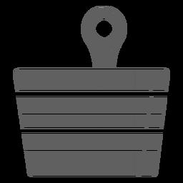 Finland sauna bucket