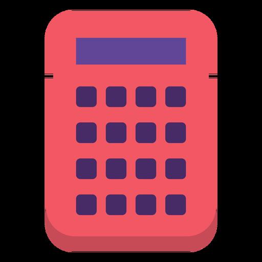 Flat 90s calculator Transparent PNG