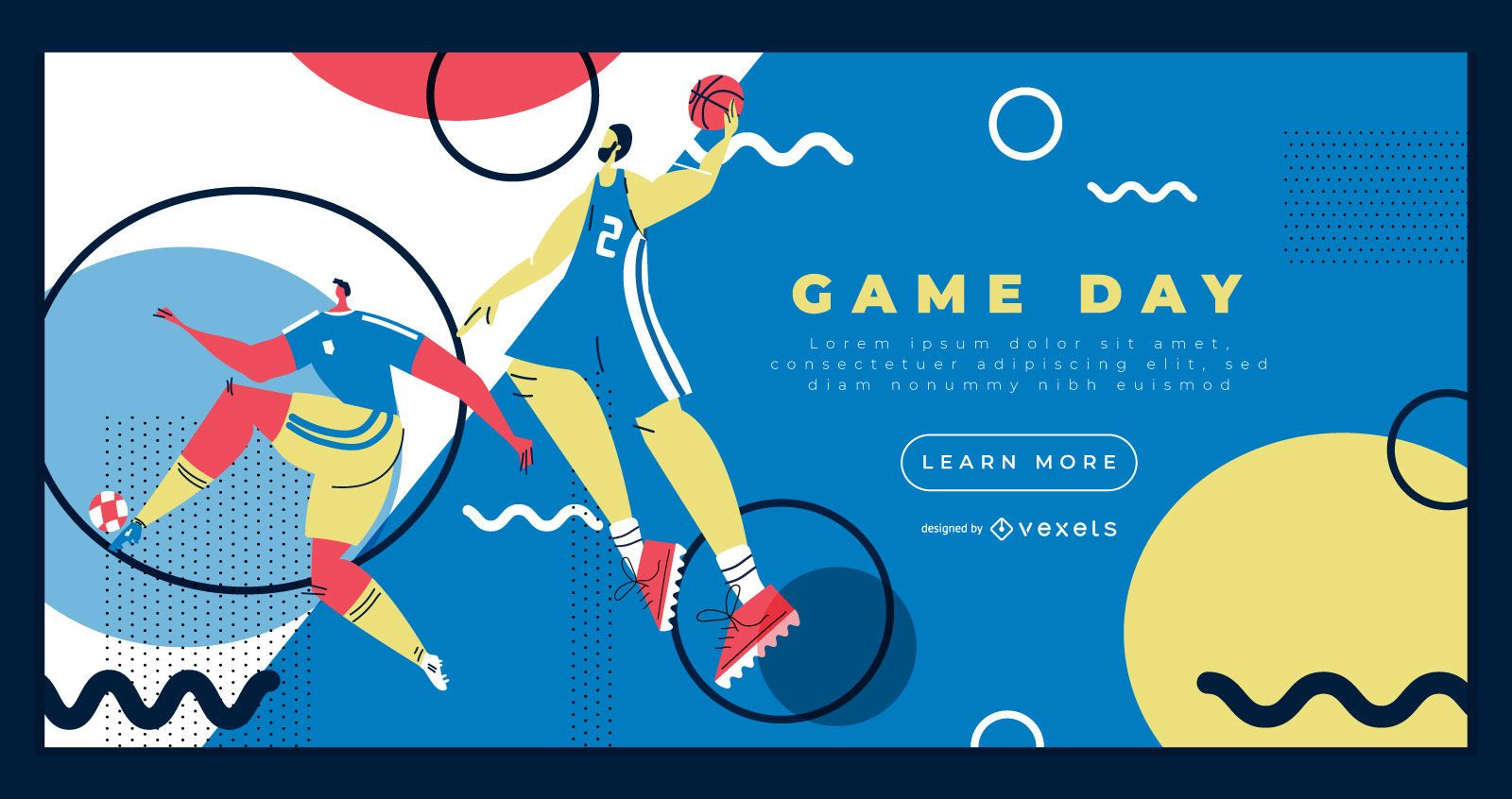 Olympic Sports landing page template