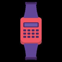 Flat 90s watch