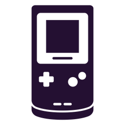 Gameboy 90s silhouette