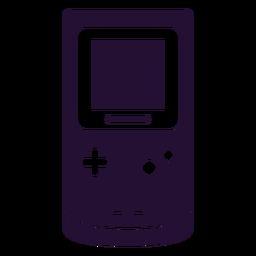 Gameboy 90s silueta