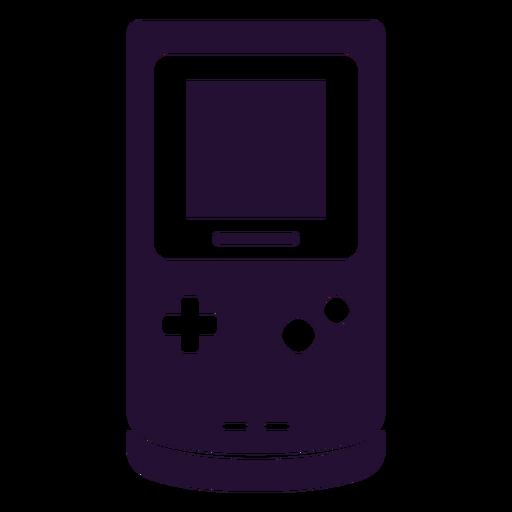 Gameboy 90s silueta Transparent PNG
