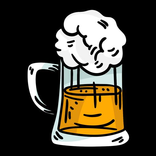 German beer element Transparent PNG
