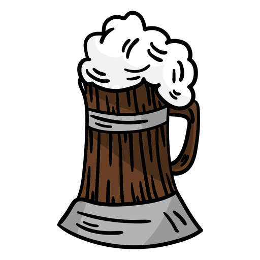 Germany beer froth Transparent PNG