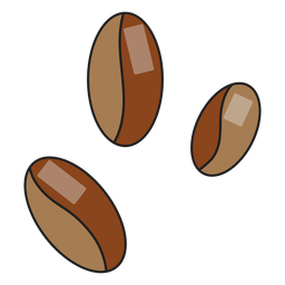 Icon coffee beans