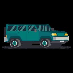 Illustration jeep long