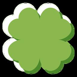 Trevo de quatro folhas da Irlanda