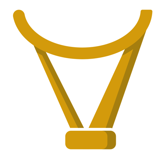 Irish harp element Transparent PNG
