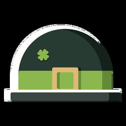 Sombrero irlandés de color