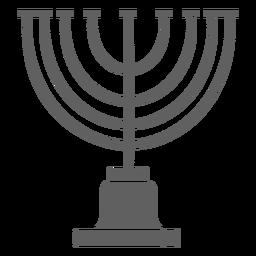 Candelabro de Israel vintage