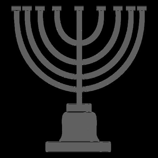 Candelabro de Israel vintage Transparent PNG