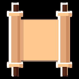 Israel scroll flat