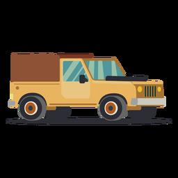 Ilustração de caminhão jipe