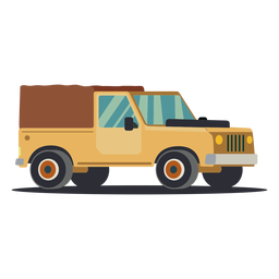 Jeep truck illustration