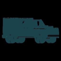 Jeep com tenda traseira