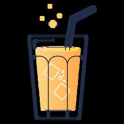 Saft im Glas