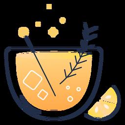 Saft Zitrone Schlaganfall