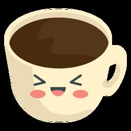 Xícara de café kawaii