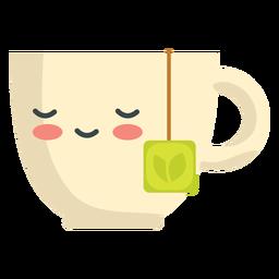 Kawaii dormindo chá