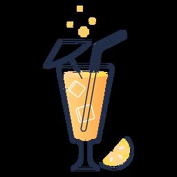 Curso de bebida de limão