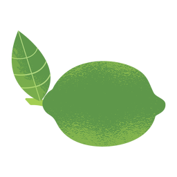 Lemon illustration texture