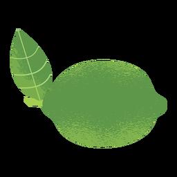 Textura de ilustración de limón