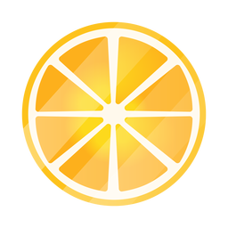 Lemon slices top