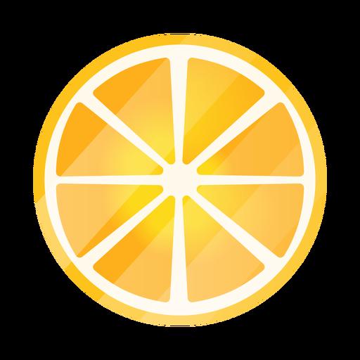 Zitronenscheiben oben