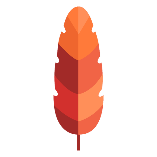 Long leaf papercut Transparent PNG