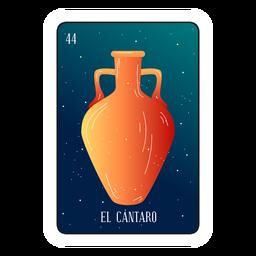 Loteria Cantaro Karte