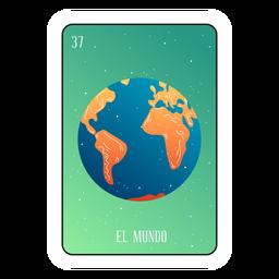 Cartão de terra Loteria