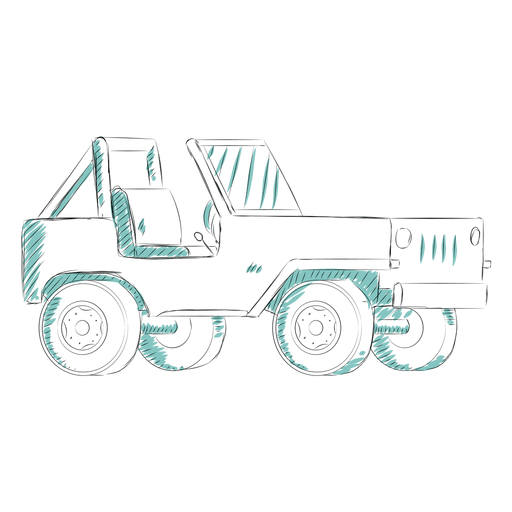 Jeep de embrague manual Transparent PNG