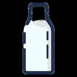Botella de leche simple