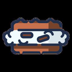 Icono de postre moca
