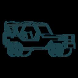 Sin puerta jeep