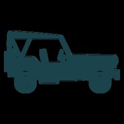 Jeep de la vieja escuela