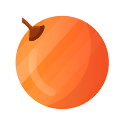 One whole orange