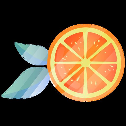 Ilustração fofa laranja Transparent PNG