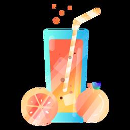 Ilustração de suco de laranja