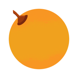 Orange simple illustration