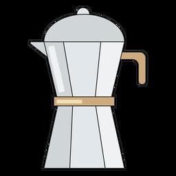 Pitcher heißen Kaffee
