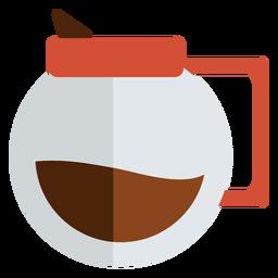 Verter sobre el café