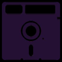 Retro 90s floppydisk