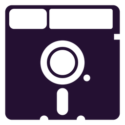 Retro disquete dos anos 90