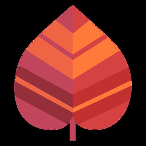 Papercut de folha de coração invertido Transparent PNG